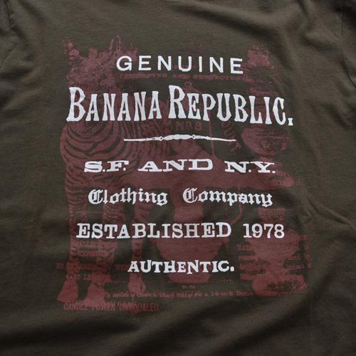 BANANA REPUBLIC/バナナリパブリック グラフィック半袖Tシャツ - 3