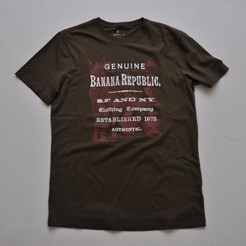BANANA REPUBLIC/バナナリパブリック グラフィック半袖Tシャツ