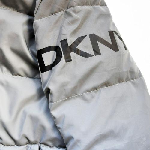 DKNY/ダナキャラン/ CLASSIC HOODED LOGO キルティングジャケット-8