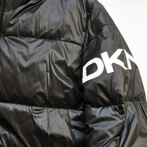 DKNY/ダナキャラン/ CLASSIC HOODED LOGO キルティングジャケット - 9