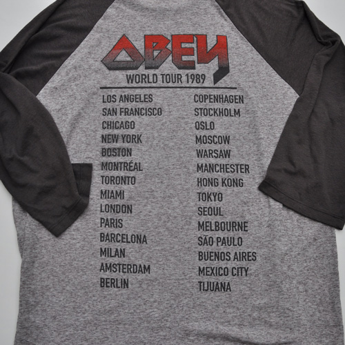OBEY /オベイ  ラグランノースリーブTシャツ-4