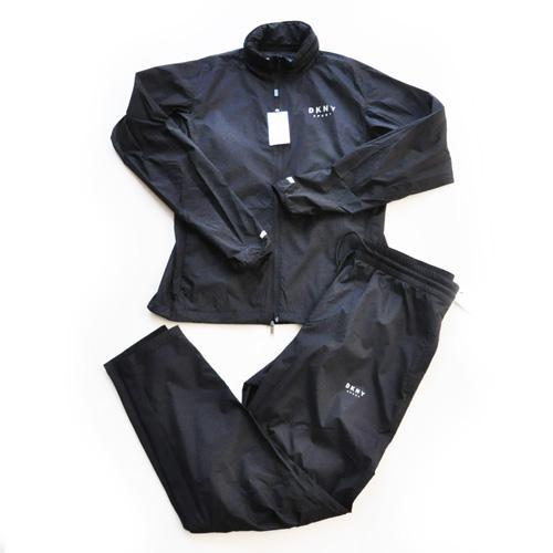 DKNY / ダナキャラン DKNY SPORT ナイロンセットアップ ブラック