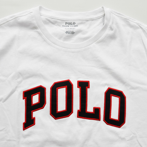 POLO RALPH LAUREN /ラルフローレン フェルトロゴ 半袖Tシャツ BIG SIZE - 2