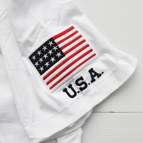POLO RALPH LAUREN /ラルフローレン フェルトロゴ 半袖Tシャツ BIG SIZE - 4