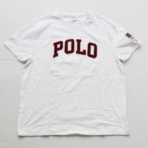 POLO RALPH LAUREN /ラルフローレン フェルトロゴ 半袖Tシャツ BIG SIZE