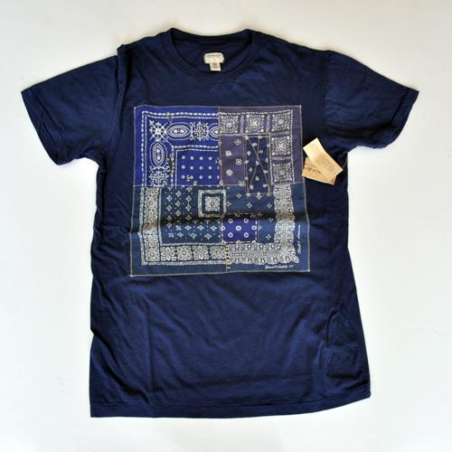 DENIM&SUPPLY/デニム&サプライ  ペイズリー半袖Tシャツ
