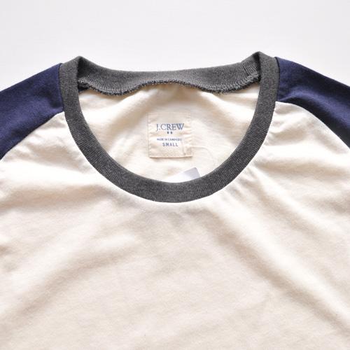 J.CREW /ジェイクルー  ラグラン半袖Tシャツ - 2
