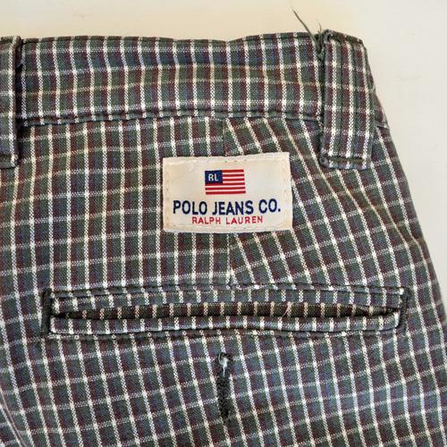 POLO JEANS/ポロジーンズ チェックショーツ Vintage - 3