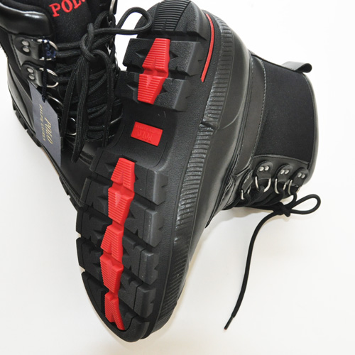 POLO RALPH LAUREN / ポロラルローレン LOWEN RUBBER WATERPROOF ブーツ ブラック - 2