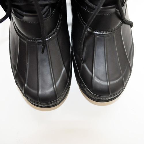 POLO RALPH LAUREN / ポロラルローレン LOWEN RUBBER WATERPROOF ブーツ ブラック - 4