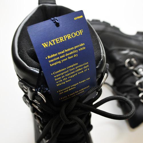 POLO RALPH LAUREN / ポロラルローレン LOWEN RUBBER WATERPROOF ブーツ ブラック - 5