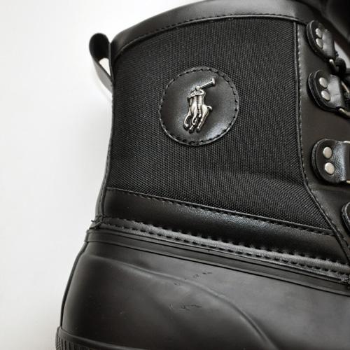 POLO RALPH LAUREN / ポロラルローレン LOWEN RUBBER WATERPROOF ブーツ ブラック - 6