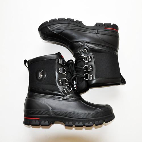 POLO RALPH LAUREN / ポロラルローレン LOWEN RUBBER WATERPROOF ブーツ ブラック