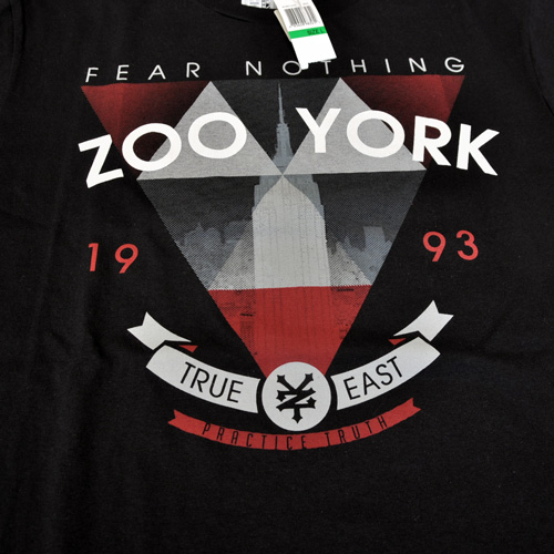 ZOO YORK/ズーヨーク  フロント半袖Tシャツ  - 2