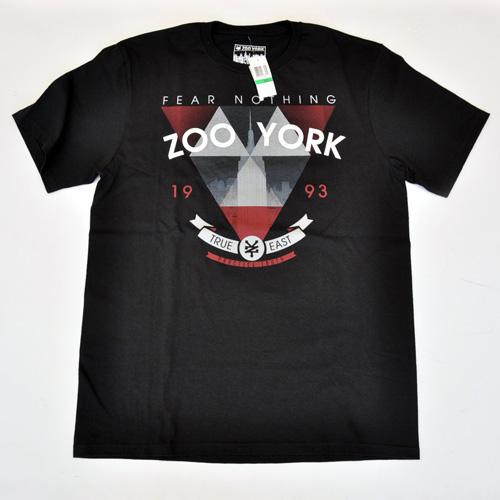 ZOO YORK/ズーヨーク  フロント半袖Tシャツ
