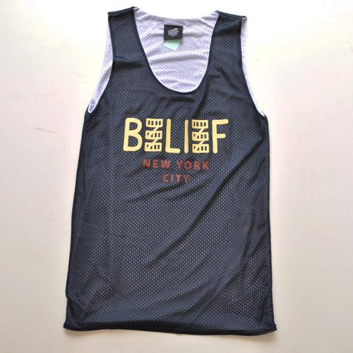 Belief NYC/ビリーフ メッシュタンクトップ 2カラー