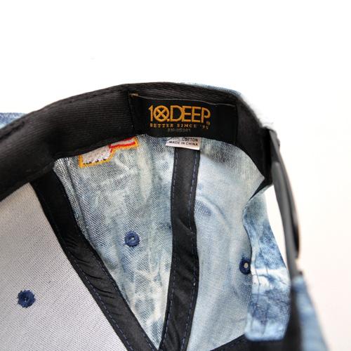 10DEEP/テンディープ  デニム地スナップバック - 3