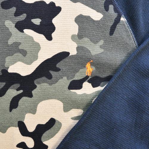 POLO RALPH LAUREN / ポロラルローレン LONG SLEEVE WAFFLE T-SHIRTS カモフラ柄 - 3
