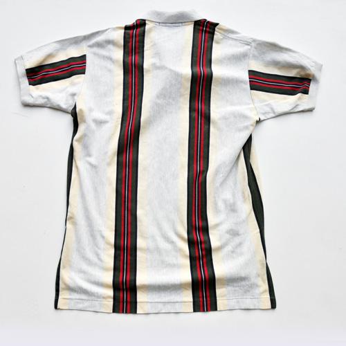 POLO RALPH LAUREN /ポロラルフローレン ストライプ半袖ポロシャツ vintage - 1