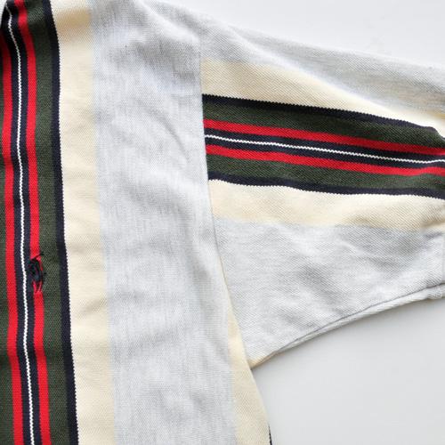 POLO RALPH LAUREN /ポロラルフローレン ストライプ半袖ポロシャツ vintage - 3