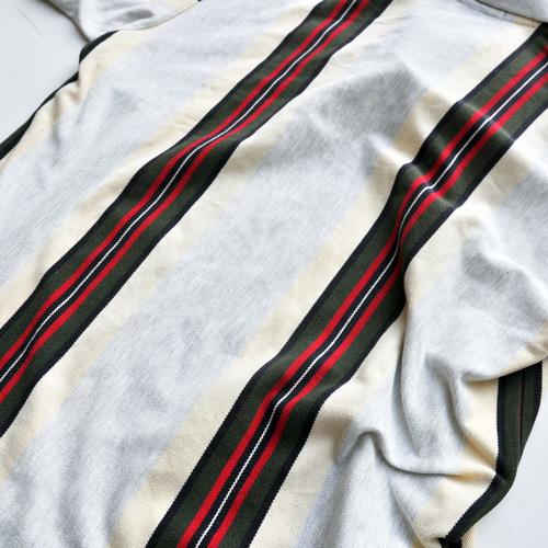 POLO RALPH LAUREN /ポロラルフローレン ストライプ半袖ポロシャツ vintage - 4