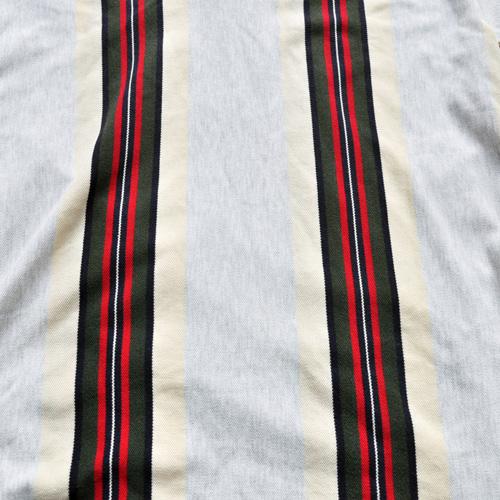 POLO RALPH LAUREN /ポロラルフローレン ストライプ半袖ポロシャツ vintage - 6