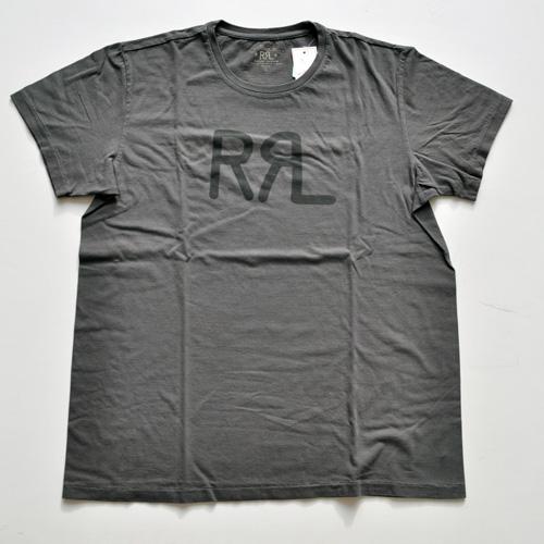 RRL/ダブルアールエル 半袖フロントロゴTシャツ ブラウン