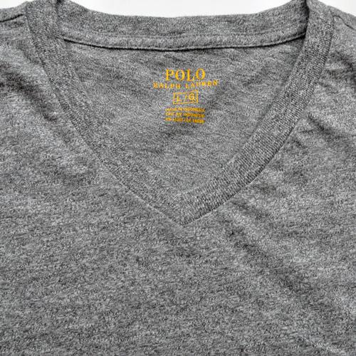 POLO RALPH LAUREN/ラルフローレン 1ポイントポニーVネックTシャツ - 2