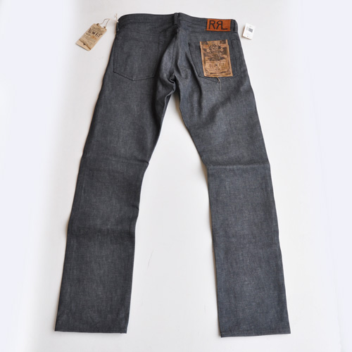 RRL/ ダブルアールエル SLIM-FIT RIGID BLACK  DENIM-2