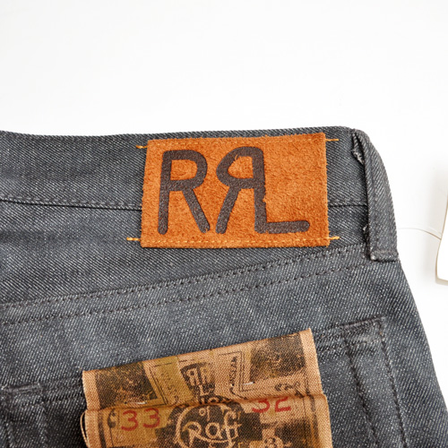 RRL/ ダブルアールエル SLIM-FIT RIGID BLACK  DENIM-4