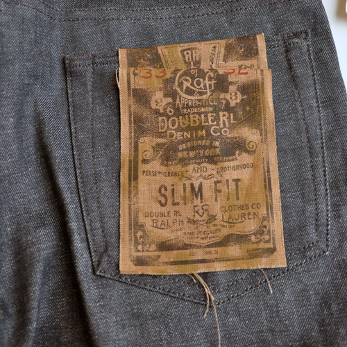 RRL/ ダブルアールエル SLIM-FIT RIGID BLACK  DENIM-5