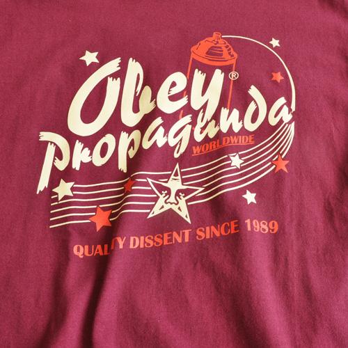 OBEY/オベイ グラフプリント半袖Tシャツ-3