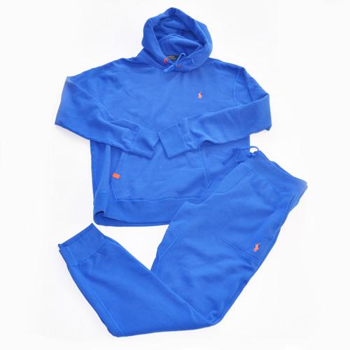 Ralph Lauren Performance Fleece SETUP(Blue/Orange)/ラルフローレン セットアップ