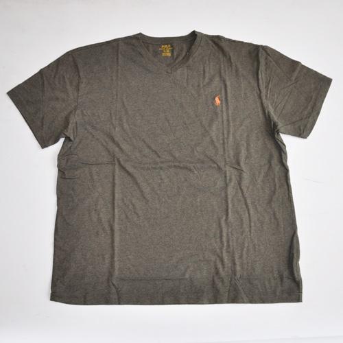 RALPH LAUREN/ラルフローレン 1ポイントポニーVネックTシャツ オリーブ