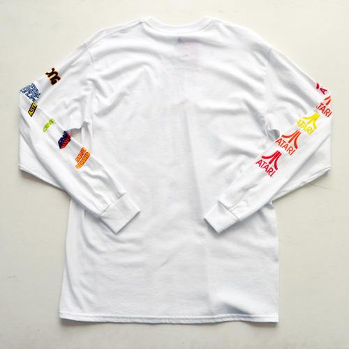 ATARI / アタリ ロゴロングスリーヴTシャツ ホワイト - 1