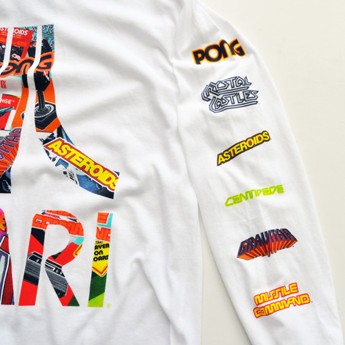ATARI / アタリ ロゴロングスリーヴTシャツ ホワイト - 2