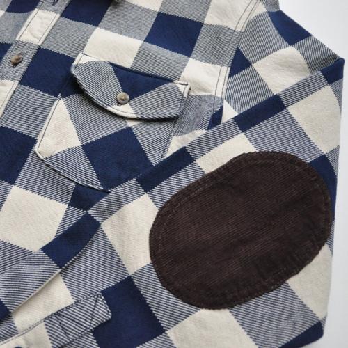 VANS/バンズ  厚手ブロックチェックジャケット ネイビー - 2