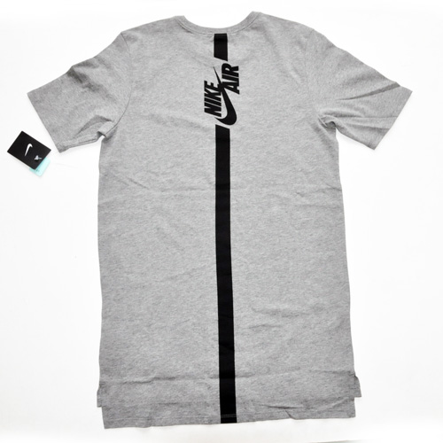 NIKE / ナイキ NIKE AIR ロングライン Tシャツ グレー US企画 - 1