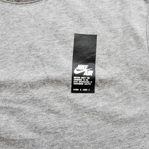 NIKE / ナイキ NIKE AIR ロングライン Tシャツ グレー US企画 - 2