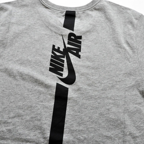 NIKE / ナイキ NIKE AIR ロングライン Tシャツ グレー US企画 - 3