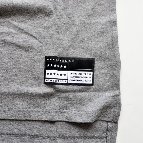 NIKE / ナイキ NIKE AIR ロングライン Tシャツ グレー US企画 - 4