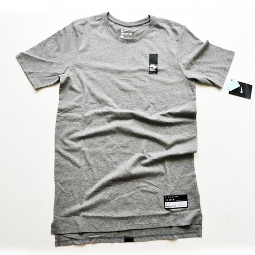 NIKE / ナイキ NIKE AIR ロングライン Tシャツ グレー US企画