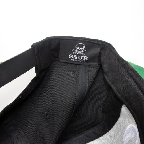 SSUR/サー COMPTON SNAPBACK CAP ブラック - 2