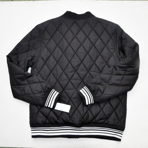 ZOO YORK/ズーヨーク キルティングMa-1ジャケット ブラック-2