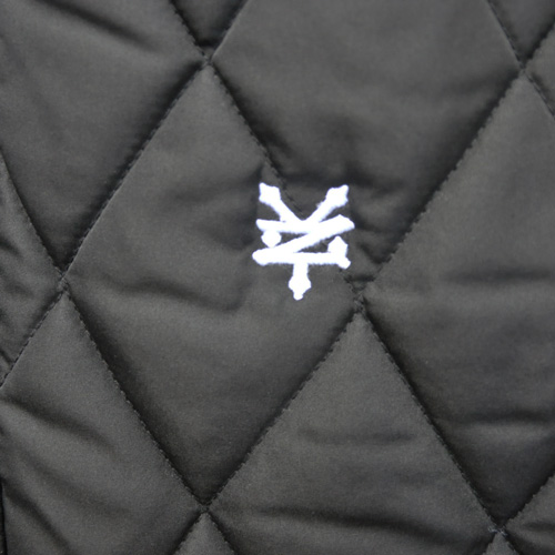 ZOO YORK/ズーヨーク キルティングMa-1ジャケット ブラック-3