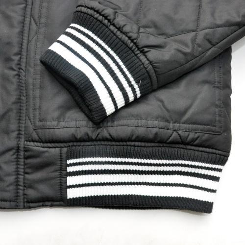 ZOO YORK/ズーヨーク キルティングMa-1ジャケット ブラック-5