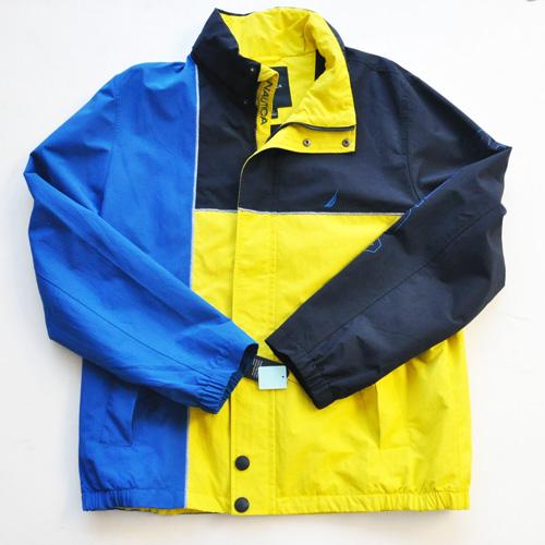 NAUTICA / ノーティカ WATER RESISTANT クレイジーパターンボンバージャケット