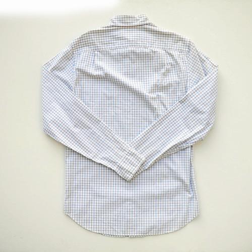 J.crew/ジェイクルー ロングスリーブチェックボタンシャツ - 1