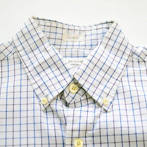 J.crew/ジェイクルー ロングスリーブチェックボタンシャツ - 4