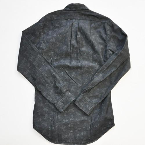POLO RALPH LAUREN / ポロラルローレン 後染めペイズリーBDシャツ - 1